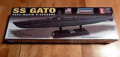 SS GATO World War II US Navy Submarine Sub WWII USA MADE LINDBERG MODEL KIT NEW
