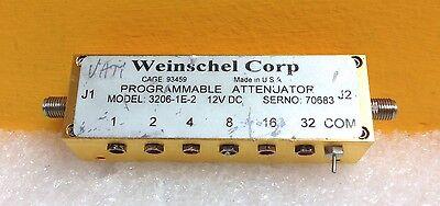 Weinschel 3206-1e-2 0 To 2000 Mhz 50w Attenuator Pins Broken Off