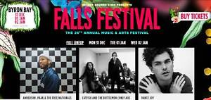 Falls Festival Byron Bay Three Day Ticket x1