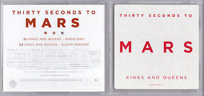Thirty 30 Seconds To Mars - Kings and Queens - US Promo (30 Seconds To Mars Queens And Kings)