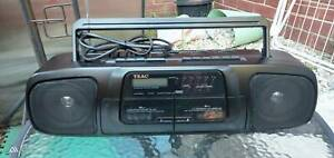 Teac twin cassettes radio recorder Narre Warren Casey Area Preview