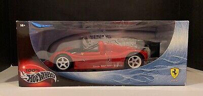 New in Box! 2000 Ferrari 333 SP 1:18 Scale Die Cast Model Hot Wheels  F1