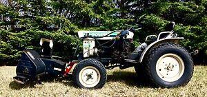 Bolens G174 Diesel 4X4 Tractor Snowblower Mower Snow Blade