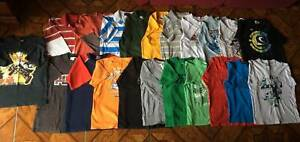 21 Size 10 Boys T-shirts $5 the lot
