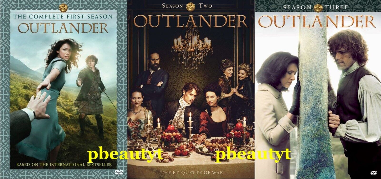 Outlander:The Complete Seasons 1-3 3 DVD Sets NEW Series Vol.1 2 First Second Th