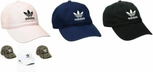 Women's adidas Originals Trefoil Relaxed Strap Back Cap Hat