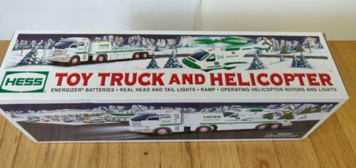 2006 Hess Toy Truck and Helicopter Excellent condition with original box