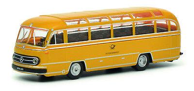 Schuco 452634100 1:87 Mercedes Benz O321 Bus Allemand Ligue Poster Ho Neuf