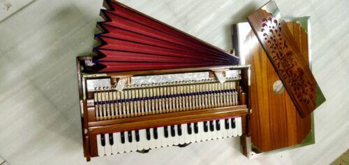 Harmonium concert quality best sounding Teakwood long stamina,432hztuned,Handmad