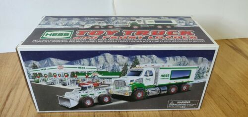 2006 Hess Toy Truck and Front Loader Excellent condition with original box