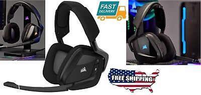 Wireless PC PRO RGB Gaming Tools 7.1 Dolby Surround Sound Headphones Headset Mic