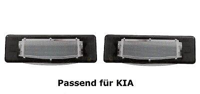 2x DEL plaque d/'immatriculation éclairage Kia Hyundai plaque éclairage