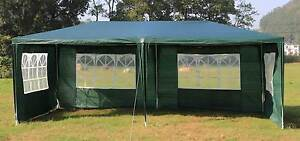 ON SALE - 3x6m Gazebo Outdoor Marquee Tent Canopy Green Melbourne CBD Melbourne City Preview
