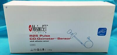 Box Of 10 Masimo Set Rainbow 2221 R25 Pulse Co-oximeter Adult Adhesive Sensors