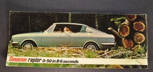 1970-1971 Sunbeam Rapier Catalog Sales Brochure Nice Original
