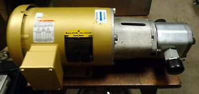 New Baldor Reliance 1 Hp Motor With Marzocchi Gear Pump
