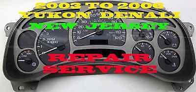 GMC GM DENALI 2003 2004 2005 2006 CLUSTER SOFTWARE & ODOMETER CALIBRATION