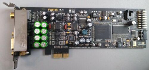 Auzentec  FORTE 7.1AZPS-LM28X R1.0 24-bit 96KHz AUDIO CardLow Profile