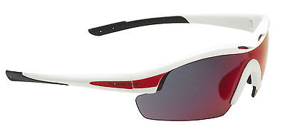 Swiss Eye Sportbrille *NOVENA* White Matt/Red