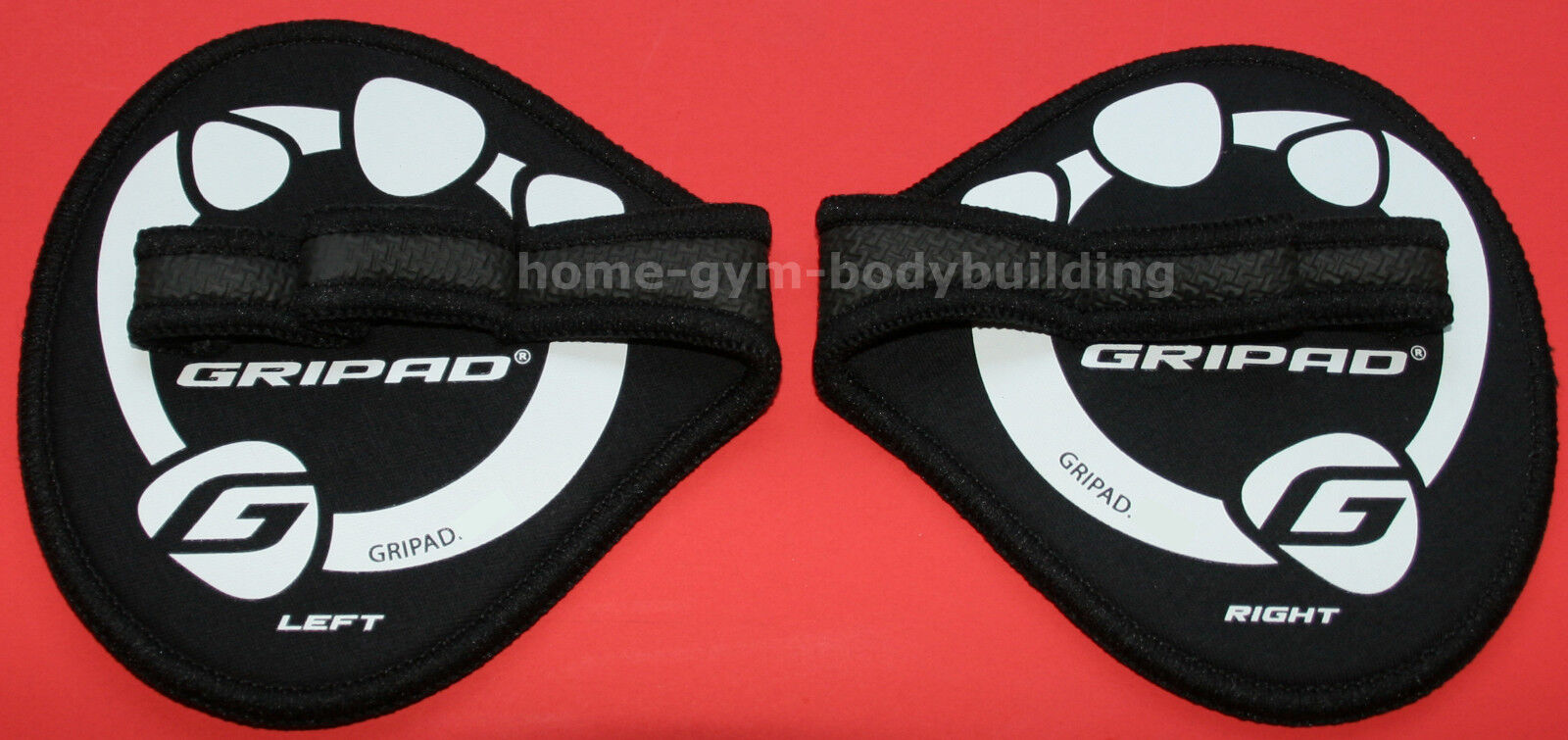 Gripads Lifting Grips Non-Slip Grip WeightLifting Gripad Glo