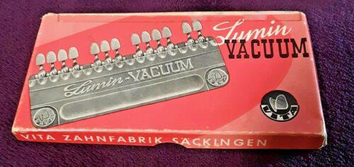 Vintage Vita Lumin Vacuum Shade Guide Dental-Orig box & instruct--Germany-NOS