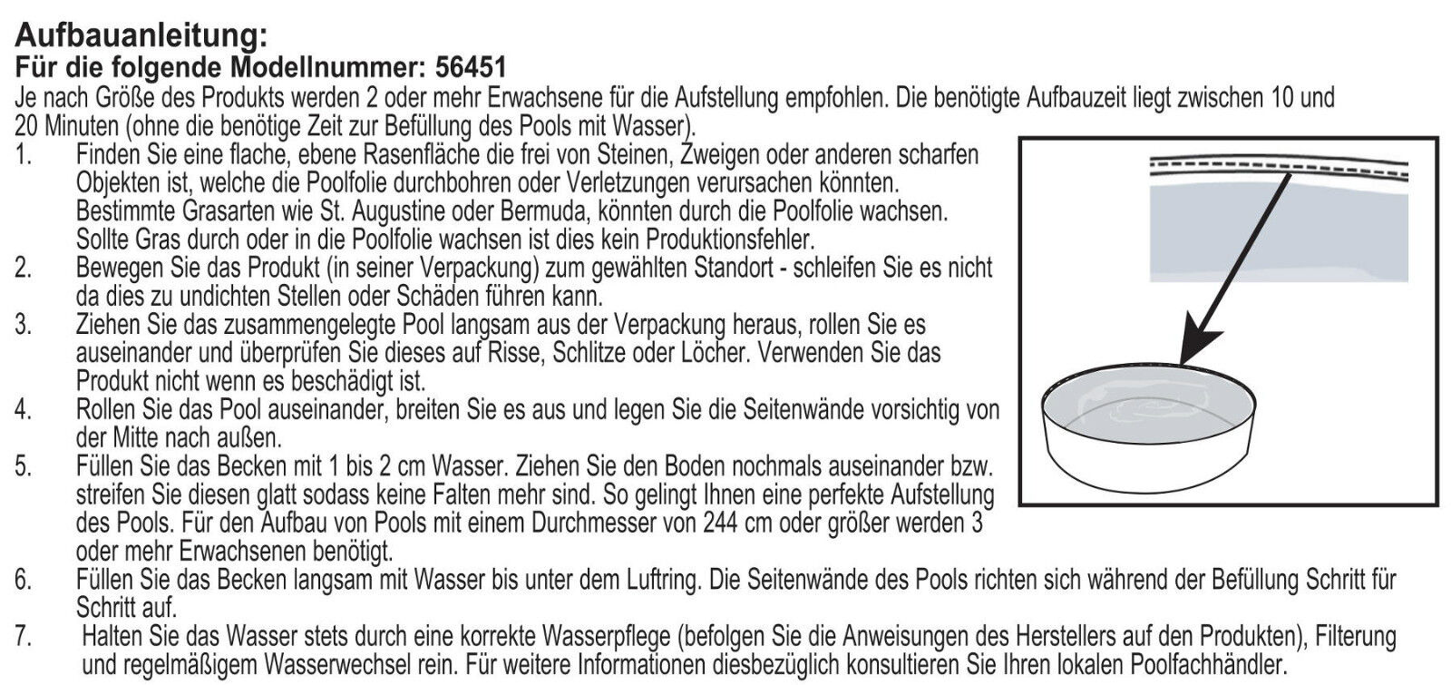 steilwand pool planschbecken kinder schwimmbecken schwimmbad kinderpool 152cm eur 18 90. Black Bedroom Furniture Sets. Home Design Ideas