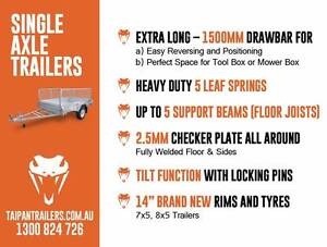 8X5 Hot Dipped Gal Trailer Cage Available Coopers Plains Brisbane South West Preview