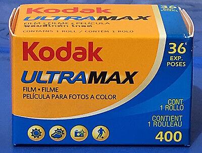 Kleinbildfilm KODAK ULTRAMAX  400 ASA 36 Aufnahmen 5 Filme