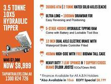10x5 Hydraulic Tipper Trailer Hot Dipped Galvanized 3.5 Ton ATM Coopers Plains Brisbane South West Preview
