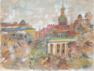 Sonja Wüsten - Leningrad - Mischtechnik - o. J.