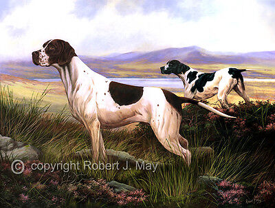 Pointer Limited Edition Giclee Print by Robert May
