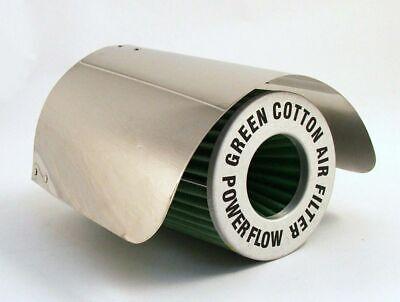 E-TECH Car Universal Air Filter Induction Kit Heat Shield