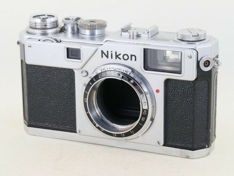 "Nikon S4 rangefinder camera Nikon S mount ""Very RARE"" From Japan#6502"
