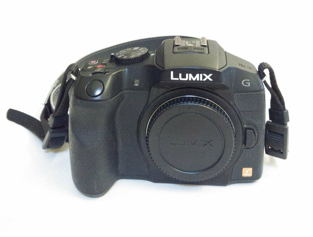 Panasonic LUMIX DMC-G6 16.1MP Digital Camera - Black (Body only)