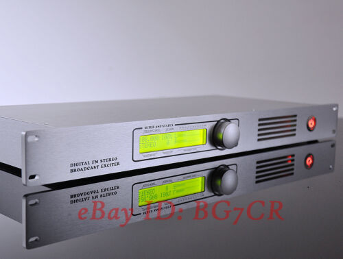 10W Digital DSP & DDS DDone-10 87.5-108MHz FM Transmitter broadcast exciter