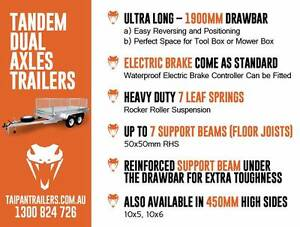 Best Quality 6x4 7x4 7x5 8x5 Tipper Box Trailer Hot Dipped Galv Coopers Plains Brisbane South West Preview