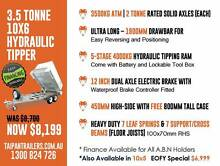 10x6 3.5 Ton Fully Hot Dipped Galvanized Hydraulic Tipper Trailer Coopers Plains Brisbane South West Preview