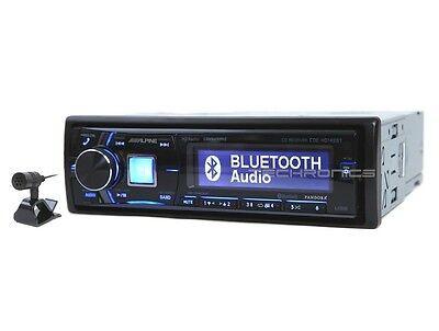 Alpine Cde Hd149bt Cd Mp3 Bluetooth Car Stereo Receiver Radio Player