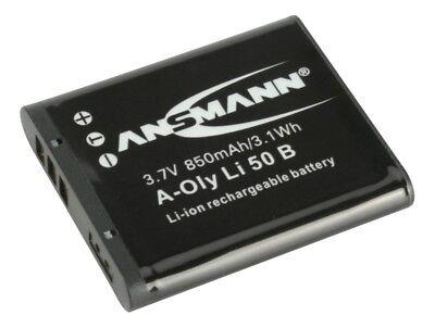 ANSMANN Akkupack A-Oly LI 50B Ersatz für Kamera Olympus Mju Tough… 5044363