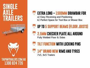 TRAILER OF THE MONTH! 7X5 Welded HotDipGal Coopers Plains Brisbane South West Preview