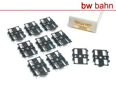 Röwa H0 5042 Schwanenhals-Drehgestell-Paar für Umbauwagen - Packung mit 5 Paaren
