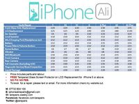 MOBILE PHONE REPAIR SERVICE - IPHONE ALI - OLDHAM - TEXT/EMAIL TO BOOK PHONE IN FOR REPAIR ONLY