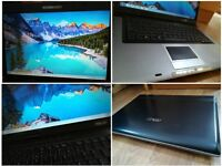 CAN DELIVER fast fully working laptop ASUS with warranty, Microsoft Office and Antivirus included