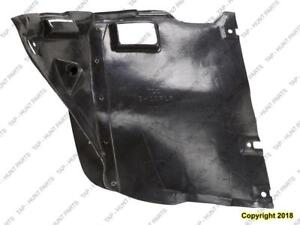 Fender Liner Front Driver Side (Front Section) Sedan/Wagon BMW 3-Series (E46) 1999-2006