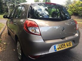2009 RENAULT CLIO EXPRESSION 1,2 PETROL FULL SERVICE HISTORY