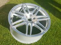 """Genuine Audi 19"""" Le mans Alloy Wheel A6 ,TT,RS4"""