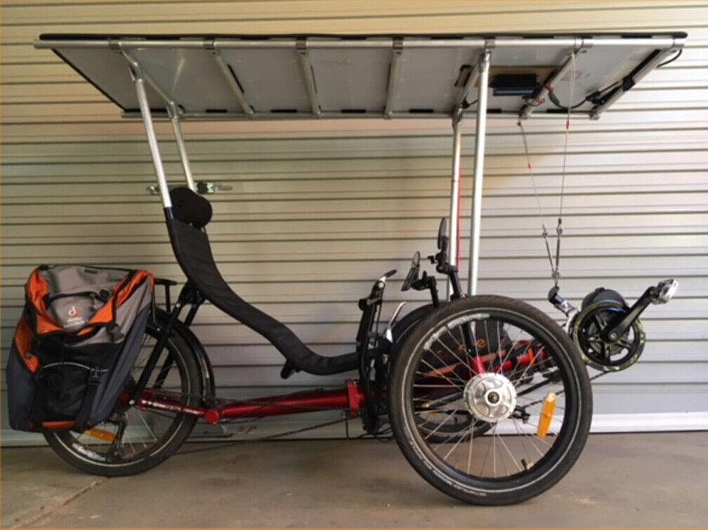 MZ Trike Folding Foldable Recumbent Bike Bicycle (Seller refurbished - 6500 USD)