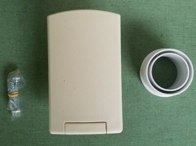 Almond Full Door Central Vacuum Wall Valve Inlet for In-Home Vacuum Cleaners RV