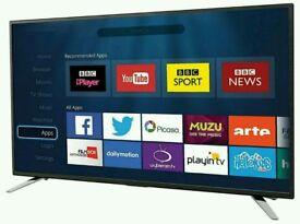 "SHARP 40"" LED smart Wi-Fi tv built in DVD USB MEDIA PLAYER HD FREEVIEW full hd 1080p."