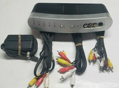 Philips Automatic Audio Video Switcher 4 Input With Antenna Coax Input